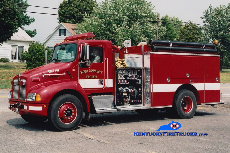 <center> (As) Burna  Community Engine 495 <br> 2001 Kenworth T-300/Pierce 1250/1000 <br> Greg Stapleton photo </center>