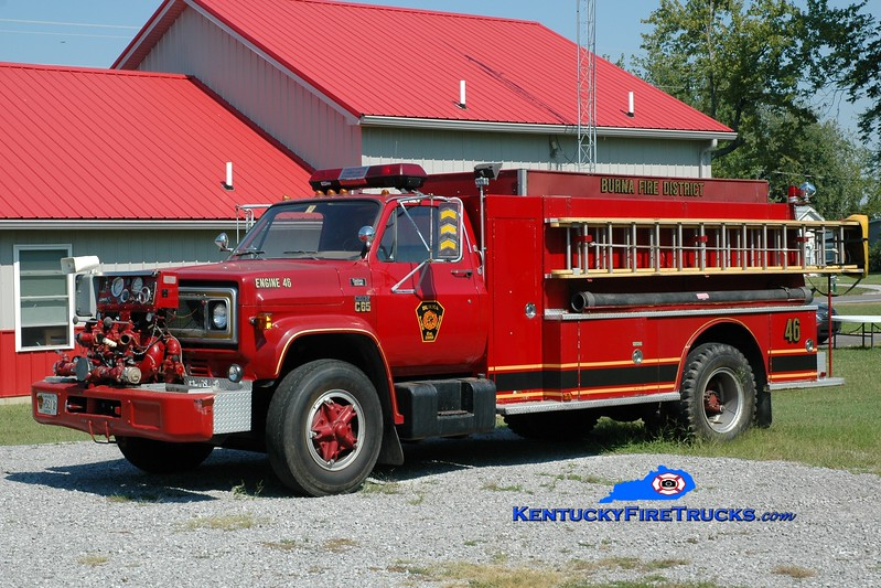 <center> RETIRED <br> Burna  Engine 46 <br> 1970 Chevy C65/Middlesex 1000/1250 <br> Greg Stapleton photo </center>