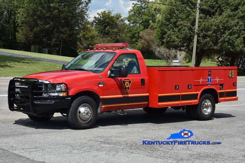 Burna Rescue 46<br /> 2004 Ford F-350 4x4/Knapheide/2020 FD <br /> Greg Stapleton photo