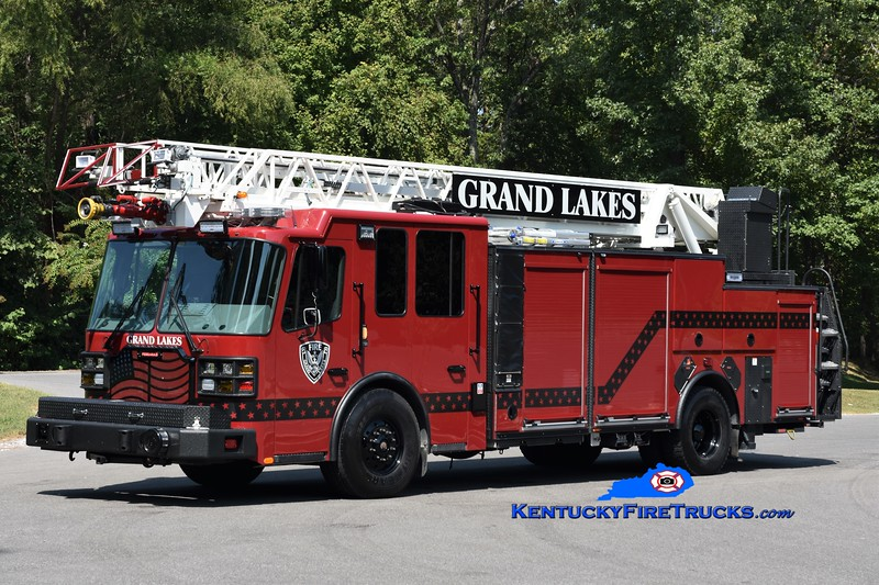 Grand Lakes  Ladder 5<br /> 2018 Ferrara Cinder 2000/500/77' <br /> Greg Stapleton photo