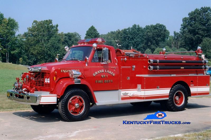 <center> Grand Lakes  Engine 900 <br> 1968 GMC/American 750/750 <br> Greg Stapleton photo </center>