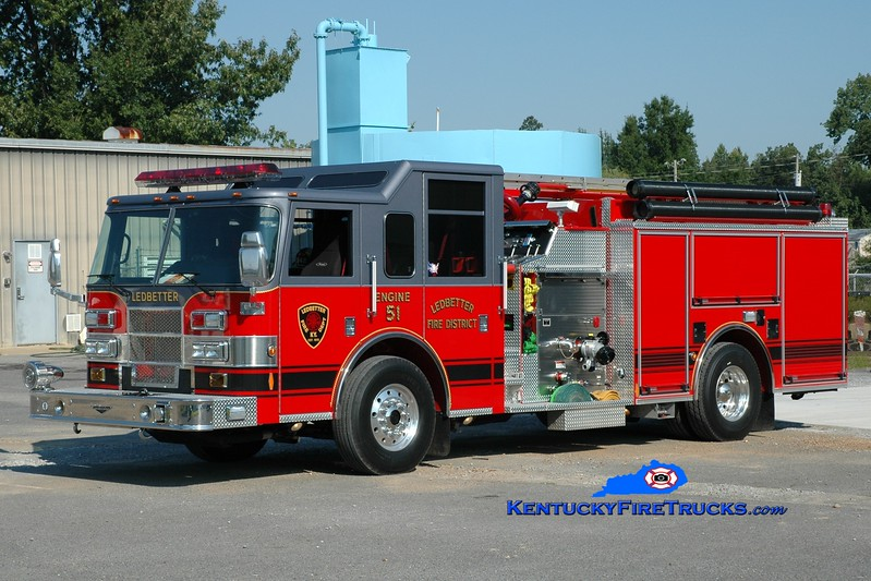 <center> Ledbetter  Engine 51 <br> 2006 Pierce Contender 1500/1000/40 <br> Greg Stapleton photo </center>