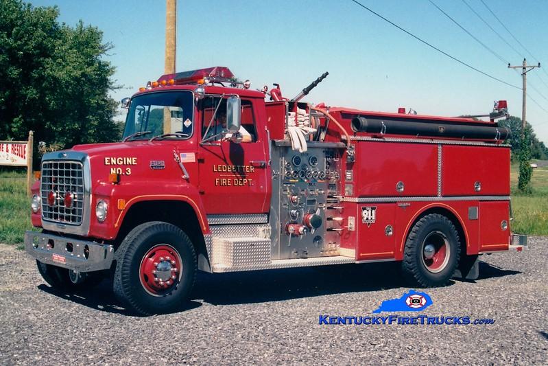 <center> Ledbetter  Engine 53 <br> 1986 Ford L/Grumman 1250/750 <br> Greg Stapleton photo </center>