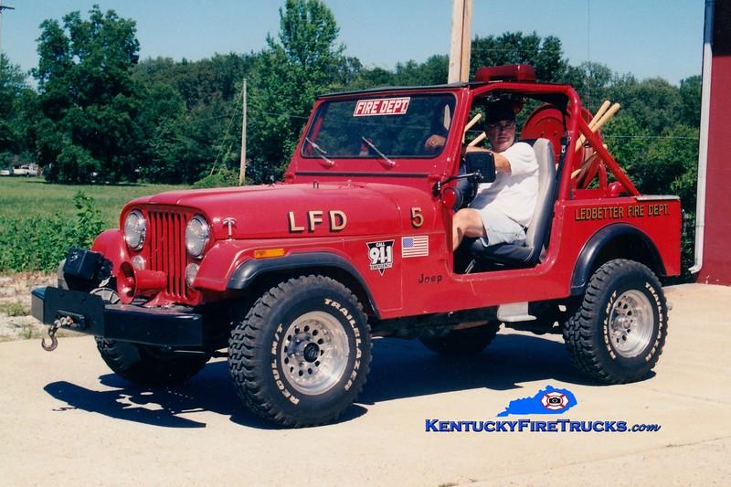 <center> Ledbetter  Brush 55 <br> 1970 Jeep CJ-7/LFD 25/50 <br> Greg Stapleton photo </center>