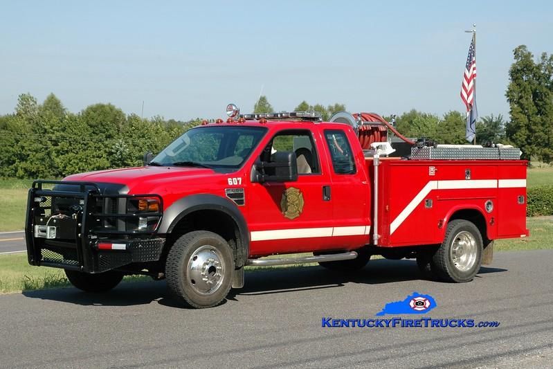 <center> Smithland  Brush 607 <br> 2007 Ford F-450 4x4/Fouts Bros 250/250 <br> Greg Stapleton photo </center>