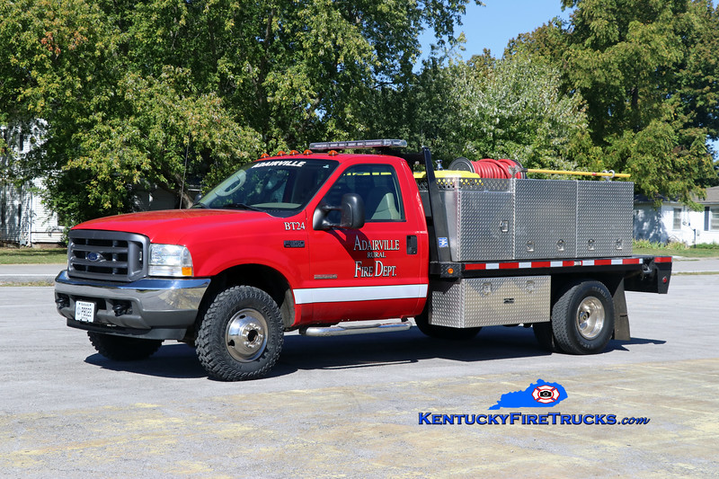 Adairville Rural  Brush 24<br /> 2004 Ford F-350 4x4/UPF 250/220<br /> Kent Parrish photo