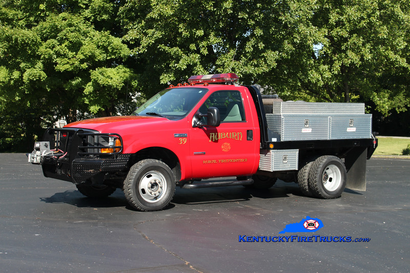 <center> Auburn Rural Brush 39 <br> 2005 Ford F-350 4x4/Stewarts 250/250 <br> Kent Parrish photo </center>