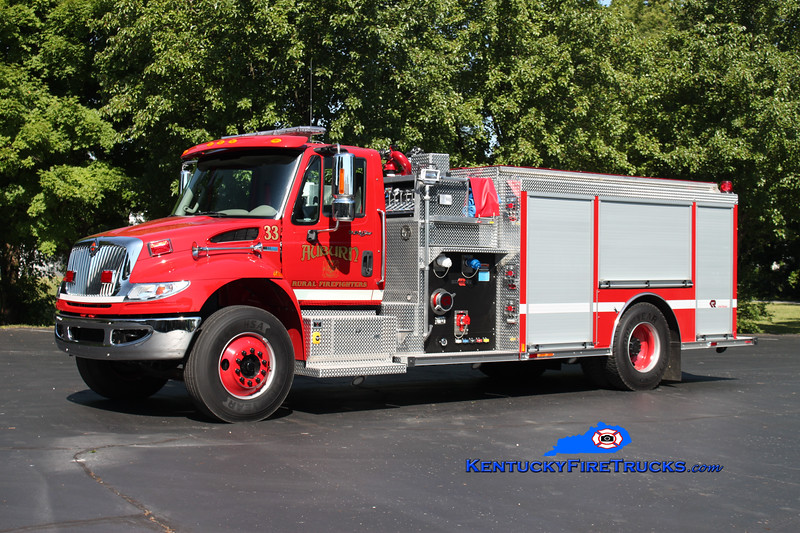 <center> Auburn Rural Engine 33 <br> 2012 International 4400/Rosenbauer 1250/1000/30 <br> Kent Parrish photo </center>