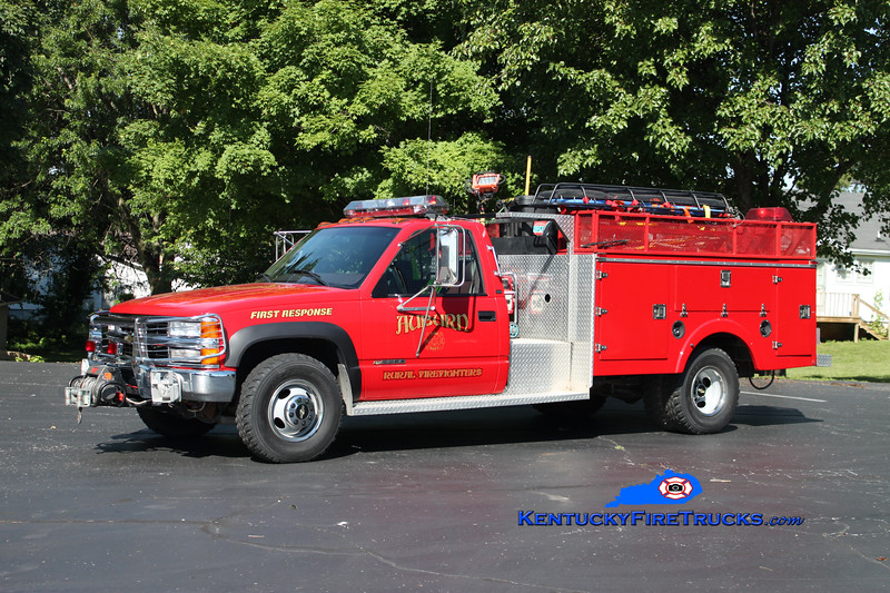 <center> Auburn Rural Rescue 36 <br> 1998 Chevy 3500 4x4/Stewarts 250/250 <br> Kent Parrish photo </center>