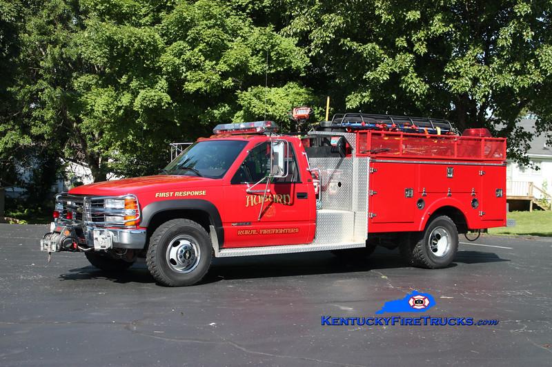 <center> Auburn Rural Rescue 36 <br> 1998 Chevy 3500 4x4/Stewarts 250/250 <br> Kent Parrish photo </center>