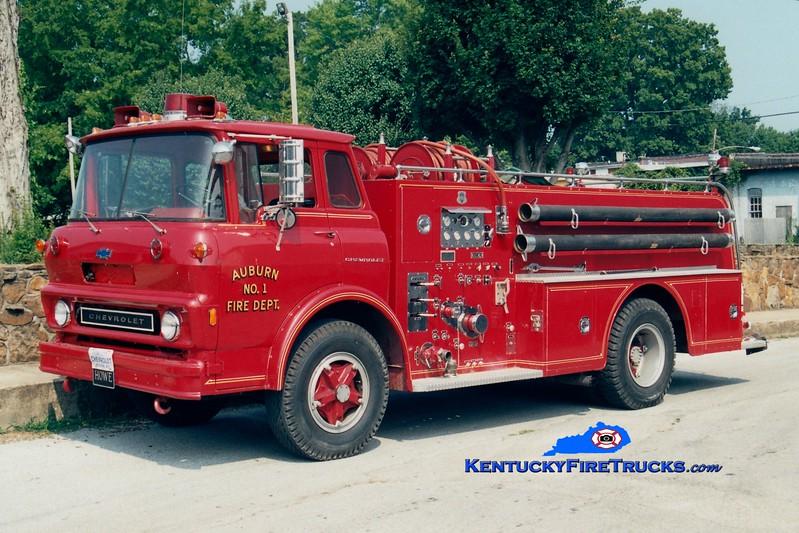 <center> Auburn City  Engine 32 <br> 1973 Chevy/Howe 750/750 <br> Greg Stapleton photo </center>