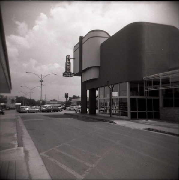 Alamo Draft House<br /> - Holga camera, 120 B&W film