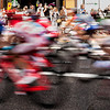 A happy accident. Went to London for something else, ended up happening across the London 2012 cycle road race. Camera on wrong setting from day before. This is the happy result.