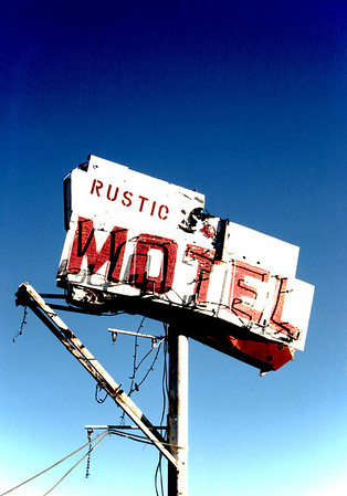 The Rustic Motel - a few miles outside Independence, California off Highway 395.