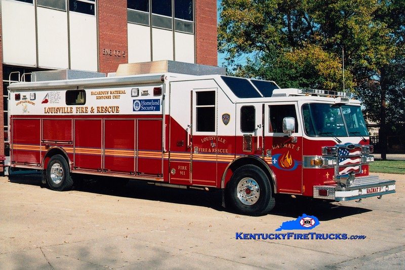 Reassigned to Hazmat 21 <br /> Louisville Hazmat 5 <br /> 2006 Pierce Lance <br /> Greg Stapleton photo