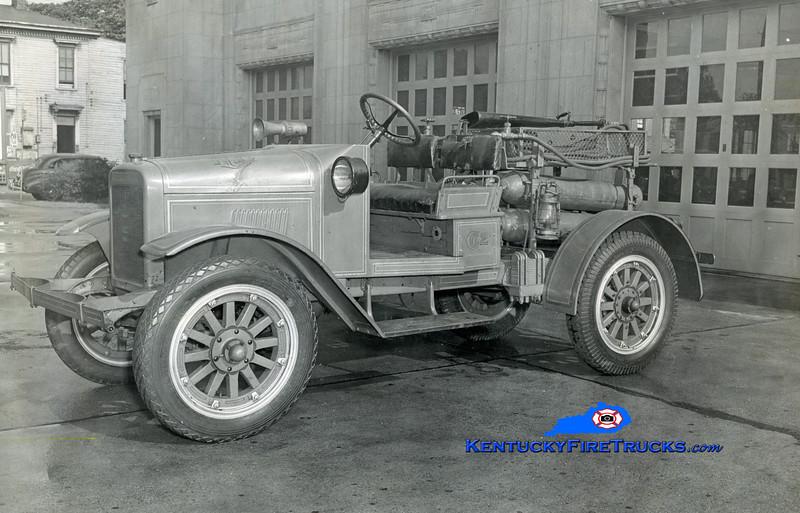 RETIRED<br /> Louisville CO2 Unit<br /> 1925 International/LFD<br /> Kent Parrish collection