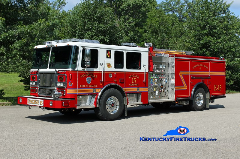Louisville  Engine 15<br /> 2016 Seagrave Marauder II 2000/500/20<br /> Kent Parrish photo