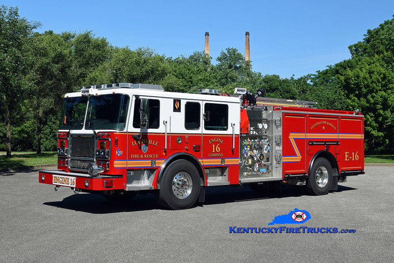 Louisville  Engine 16<br /> 2019 Seagrave Marauder II 2000/500/20<br /> Kent Parrish photo