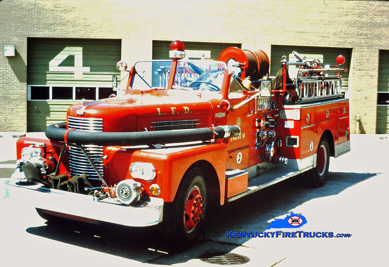 RETIRED<br /> Louisville Engine 16<br /> x-Engine 15<br /> 1961 Pirsch 1000/200<br /> Kent Parrish collection