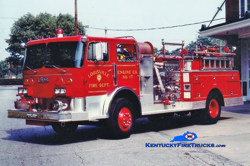 RETIRED <br /> Louisville Engine 17 <br /> 1980 Pirsch 1500/300 <br /> Greg Stapleton collection