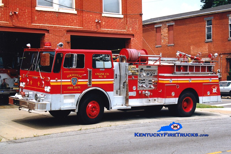 <center> RETIRED <br> Louisville  Engine 18 <br> 1981 Duplex/Grumman/1974 Pirsch 1000/300 <br> *Body x-Engine 19 <br> Greg Stapleton photo <br> </center>
