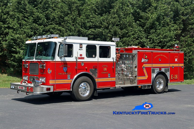 Louisville  Engine 18<br /> 2000 Seagrave Marauder/2017 LFD 1500/500<br /> Kent Parrish photo
