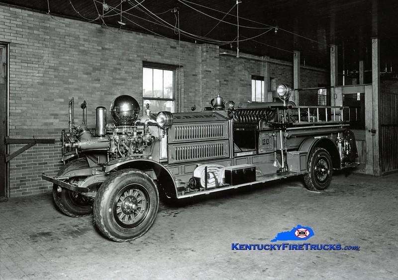 <center> RETIRED <br> Louisville  Engine 20 <br> 1923 Ahrens-Fox MS4 750/0  <br> Kent Parrish collection  </center>