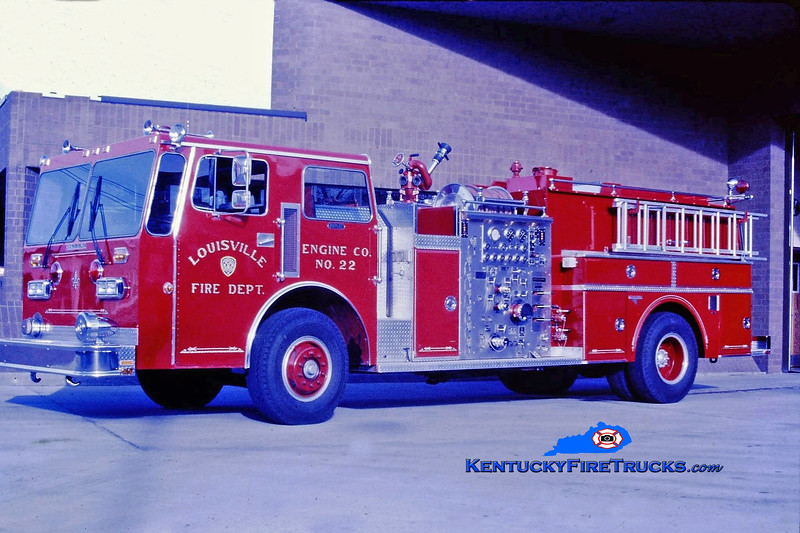 RETIRED <br /> Louisville Engine 22<br /> 1984 Duplex D-260/Grumman 1250/700/300 <br /> Kent Parrish collection