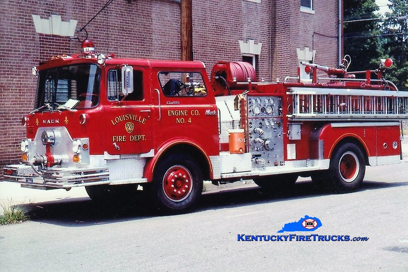 RETIRED <br /> Louisville Engine 4 <br /> 1971 Mack CF 1000/300<br /> Greg Stapleton collection