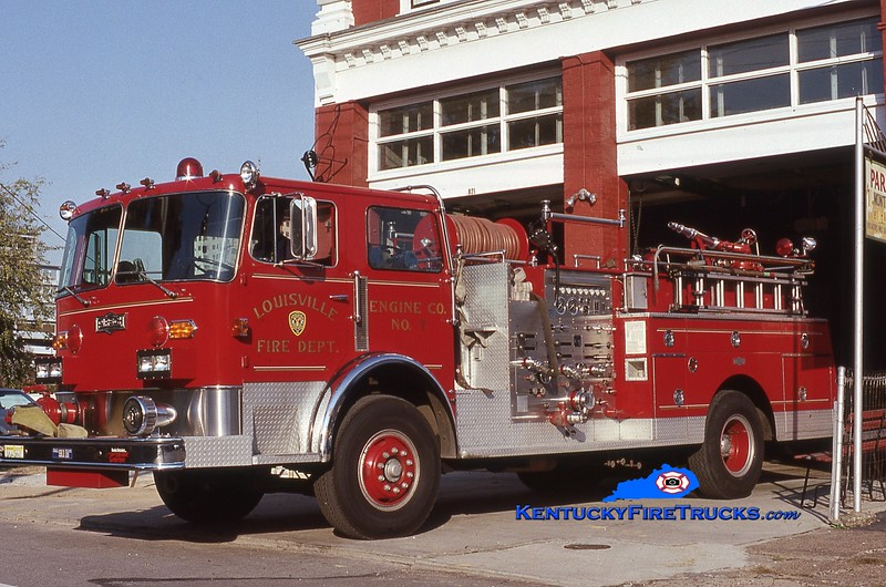 RETIRED<br /> Louisville Engine 7<br /> x-Engine 5<br /> 1980 Pirsch 1500/300<br /> Kent Parrish collection