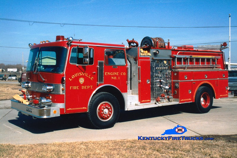 <center> RETIRED <br> Louisville  Engine 1 <br> 1982 Duplex D-350/Grumman 1250/700/300F <br> Greg Stapleton photo </center>