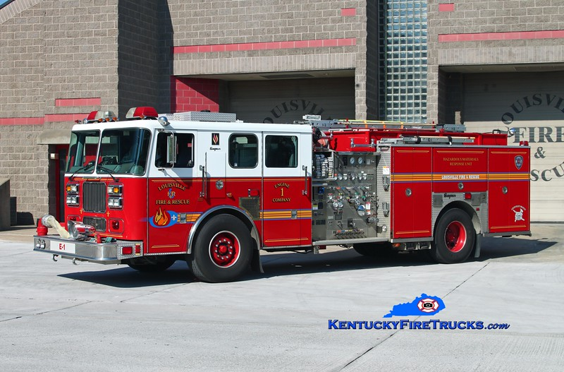 Louisville Engine 1<br /> 2002 Seagrave Marauder II 2000/500/25/200<br /> Kent Parrish photo