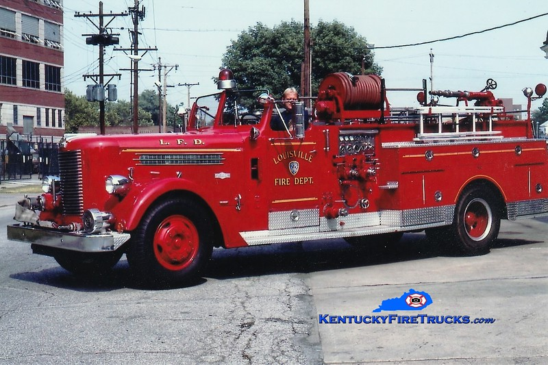 RETIRED<br /> Louisville Engine 19<br /> x-Engine 2 <br /> 1958 Pirsch 1000/200<br /> Greg Stapleton collection