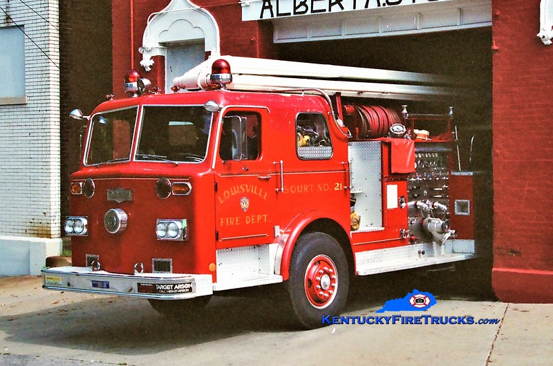 RETIRED<br /> Louisville Squrt 21<br /> x-Squrt 2<br /> 1974 Pirsch 1000/300/54' <br /> Greg Stapleton photo
