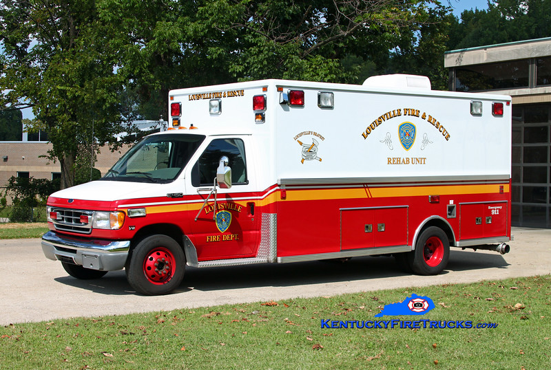 Louisville Rehab 12<br /> 1999 Ford E-450/Lifeline<br /> Kent Parrish photo