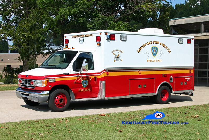 Louisville Rehab 12<br /> 1999 Ford E-450/Lifeline<br /> Kent Parrish photo