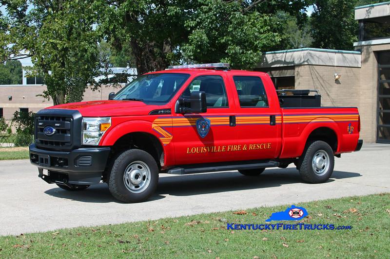 Louisville  Utility 543<br /> 2016 Ford F-250 4x4 w/UPF 150/75 skid <br /> Kent Parrish photo