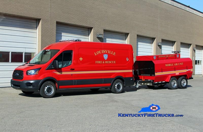 Louisville Air Utility 16<br /> 2016 Ford Transit Air Bottle Van/Scott Safety Mobile Air Unit<br /> Kent Parrish photo
