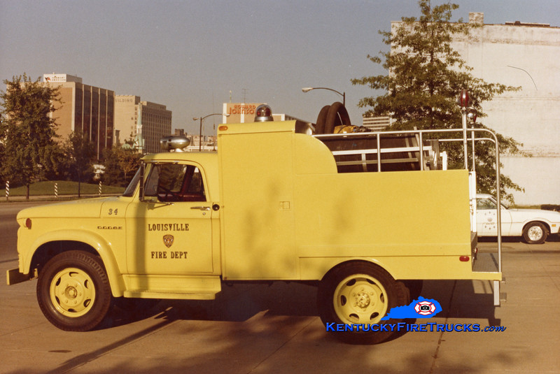 RETIRED<br /> Louisville Car 34<br /> 1962 Dodge/Patterson Fuel Wagon<br /> Kent Parrish collection