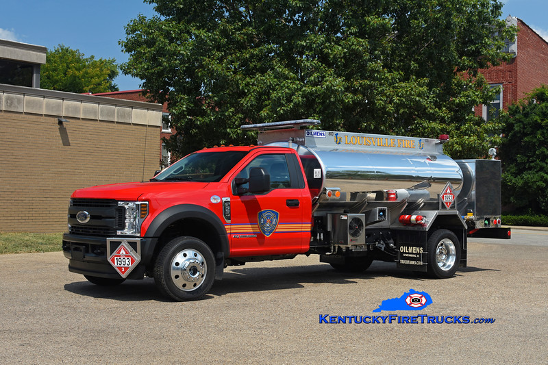 Louisville Fuel Wagon<br /> 2018 Ford F-550 4x4/Oilmens 800 Diesel/300 Unleaded<br /> Kent Parrish photo