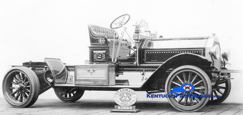 RETIRED<br /> Louisville  Truck 2<br /> 1918 Seagrave tractor<br /> *Pulled a horse-drawn aerial, but unconfirmed which<br /> Kent Parrish collection