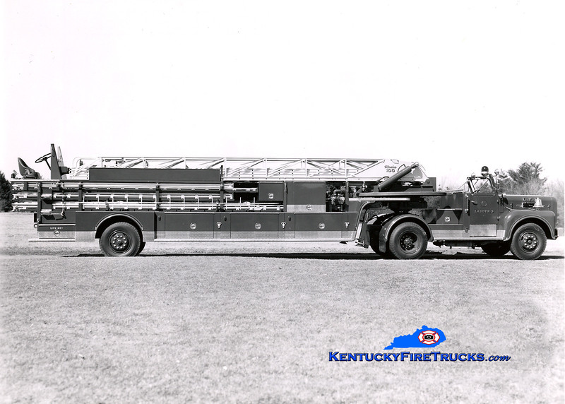 <center> RETIRED <br> Louisville  Truck 3 <br> 1963 Maxim 100' <br> Kent Parrish collection </center>