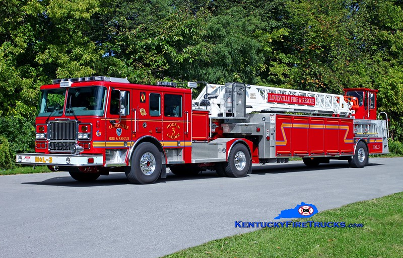 Louisville Truck 3<br /> 2013 Seagrave Marauder II 100' <br /> Kent Parrish photo