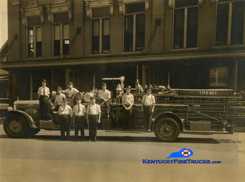 RETIRED<br /> Louisville Truck 5<br /> 1925 Seagrave City Service Truck/Chemical <br /> Kent Parrish collection