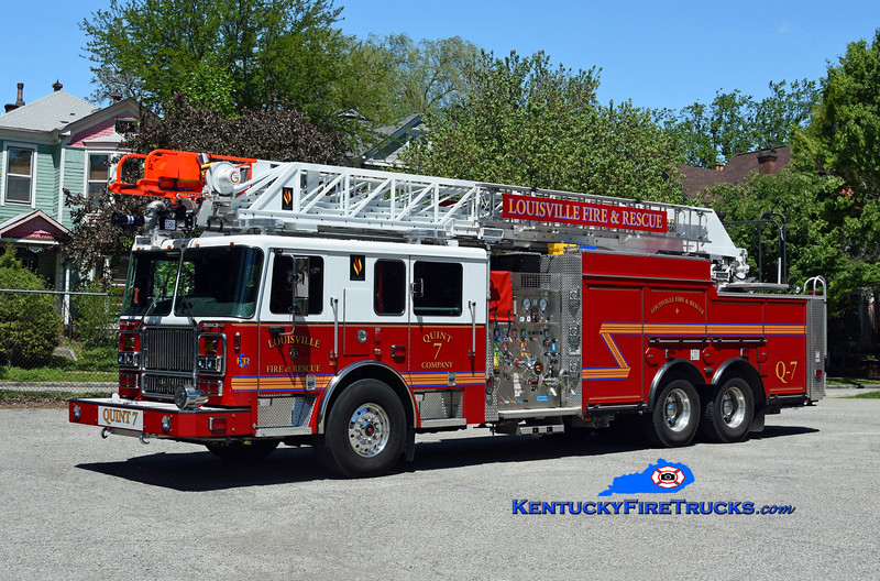 Louisville Quint 7<br /> 2019 Seagrave Marauder II 1500/400/20/100' <br /> Kent Parrish photo