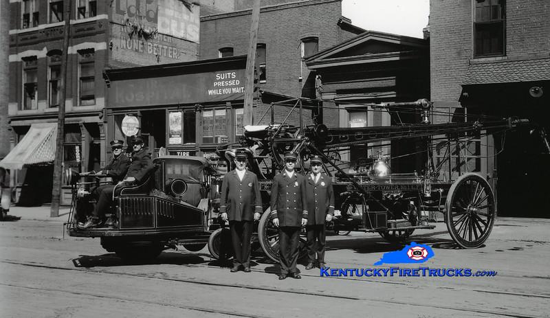<center> Louisville  Water Tower 1 <br> 1914 Autohorse/1892 Hale 55'  <br> Kent Parrish collection <br> </center>