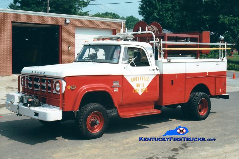 <center> RETIRED <br> Eddyville  Engine 503 <br> 1968 Dodge Powerwagon 4x4/Stahl 250/250 <br> Greg Stapleton photo </center>