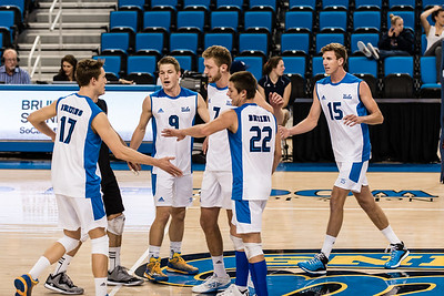 UCLA Men's Volleyball vs. Cal Baptist @ Pauley Pavilion