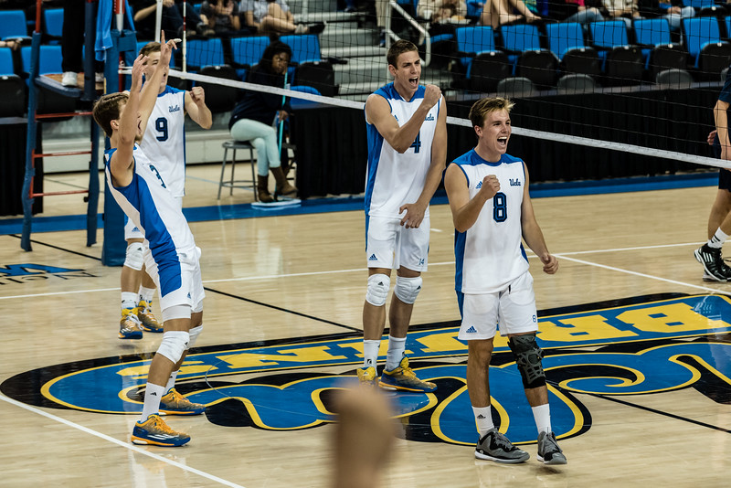 UCLA Men's Volleyball vs. UCSD @ Pauley Pavilion