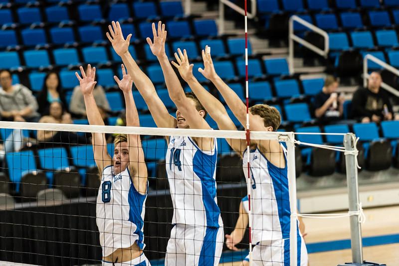 UCLA Men's Volleyball vs. UCSD @ Pauley Pavilion